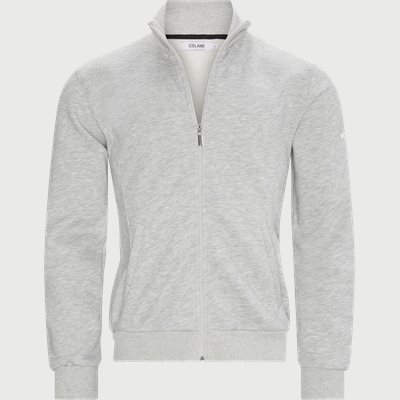 Burgos Zip Sweatshirt  Regular | Burgos Zip Sweatshirt  | Grå
